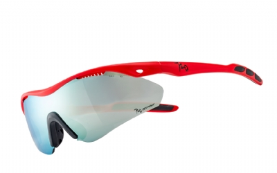 720 Armour Analog B355B3-7; Matte Neon Red Orange Glasses