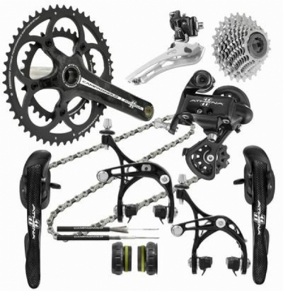 Campagnolo Athena Carbon Groupset Campy 11s (50/34T 172.5mm 12/27T)
