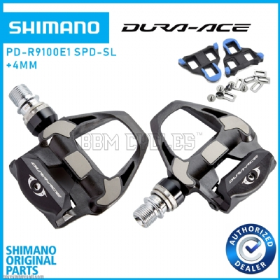 SHIMANO Dura Ace PD-R9100 +4mm SPD SL Pedals