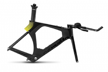 Cervelo P5 48 black yellow Frame
