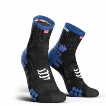 Compressport Asia Socks V3 Run Hi Black/Blue