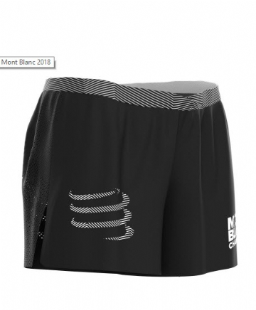 Compressport Men Overshort Black (S,M,L,XL)